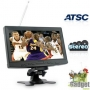 Цифровой телевизор с 9-дюймовым LCD широкоформатным экраном и тюнером ATSC