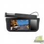 7-дюймовый TFT ЖК-монитор черного цвета с козырьком от солнца — способен поворачиваться на все 360 градусов - черный
