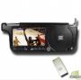 DVD-плеер + игровая система на солнцезащитный козырек (правый) с USB и слотом для карты (черный)