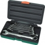 Набор комбинированных ключей Super Tech 8-19 мм 8 предметов фирмы JONNESWAY Артикул W84108S (48913)