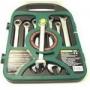 Набор ключей комбинированных трещоточных JONNESWAY, 72 зубца, 10-19мм, 7 предметов