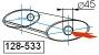 Глушитель UNIMIX 128-533Zn