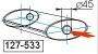 Глушитель UNIMIX 127-533Zn