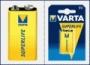VARTA батарейка Крона SuperLife 9V 2022 1 шт