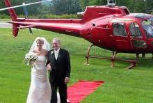 helicopterwedding
